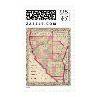 Adams, Brown, Pike counties Postage