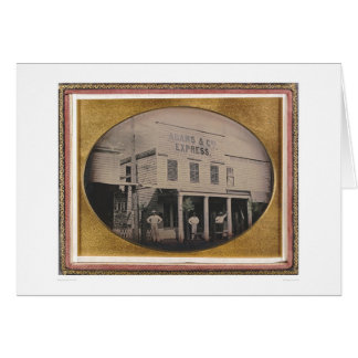 Adams & Co. Express building (40129) Greeting Cards