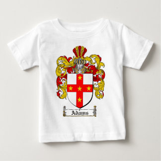 Adams Coat of Arms / Adams Family Crest Baby T-Shirt