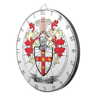 Adams Coat of Arms Dart Board