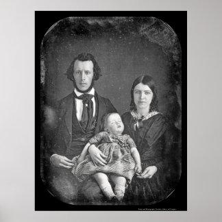 Adams Family Daguerreotype 1846 Poster