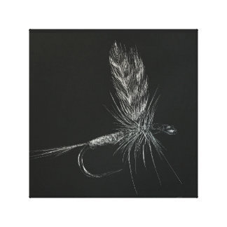Adams Fly Canvas Print