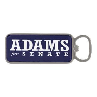 ADAMS FOR SENATE 2014 MAGNETIC BOTTLE OPENER