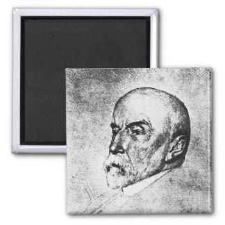 Adams ~ Henry Adams Writer Historian 2 Inch Square Magnet