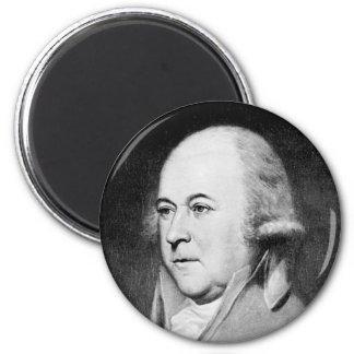 Adams ~ John Adams President of United States 2 Inch Round Magnet