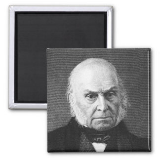 Adams ~ John Quincy Adams President United States 2 Inch Square Magnet