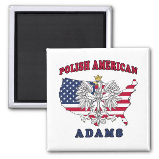 Adams Massachusetts Polish Magnet