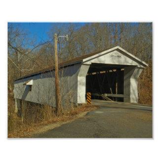 Adams Mill Covered Bridge Photo Print