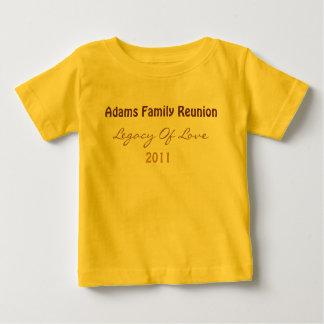 Adams Reunion T-Shirt (Baby)