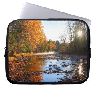 Adams River Shuswap Wilderness Nature Photo Laptop Sleeves