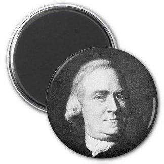 Adams ~ Samuel Adams 1722 - 1803 2 Inch Round Magnet