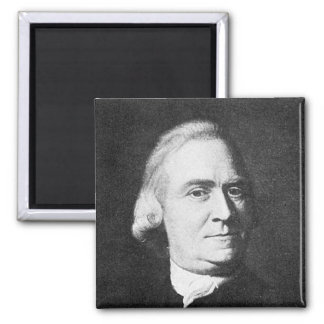Adams ~ Samuel Adams 1722 - 1803 2 Inch Square Magnet