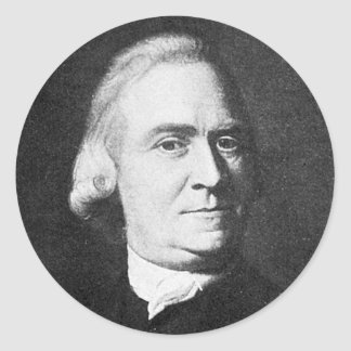 Adams ~ Samuel Adams 1722 - 1803 Round Sticker