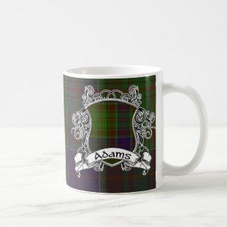 Adams Tartan Shield Coffee Mug