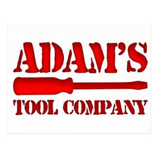 Adam's Tool Company Postcard