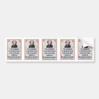 Adams -Tripoli -2 Bumper Stickers
