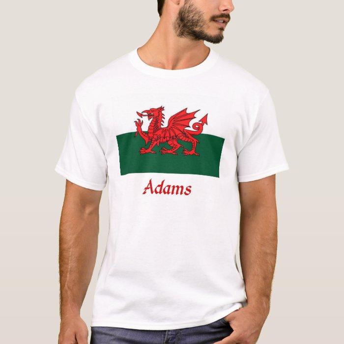 Adams Welsh Flag T-Shirt