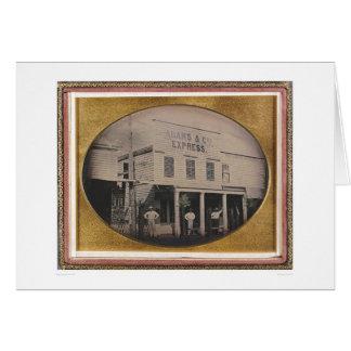 Adams y los Co. expresan el edificio (40129) Tarjetón
