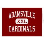 Adamsville - Cardinals - High - Adamsville Greeting Cards