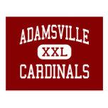 Adamsville - Cardinals - High - Adamsville Post Card