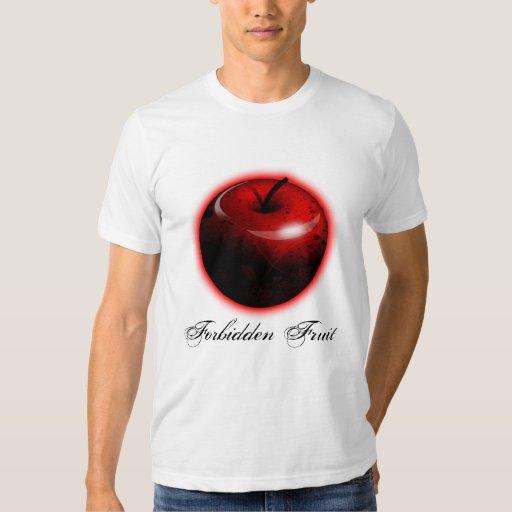 Adán y Eva Apple - la fruta prohibida Polera