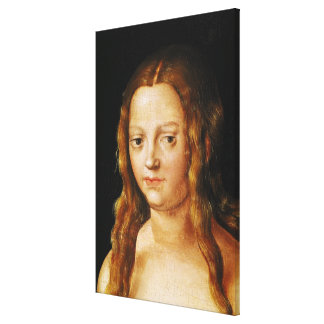 Adán y Eva, detalle de la cabeza de Eve Impresión En Lienzo