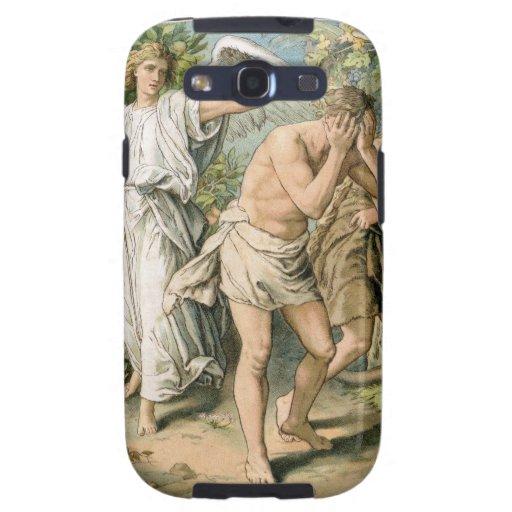 Adán y Eva echados fuera de paraíso Galaxy SIII Fundas