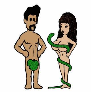 Adán y Eva Escultura Fotografica