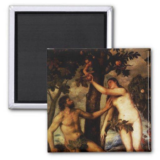 Adán y Eva - la caída del imán del hombre