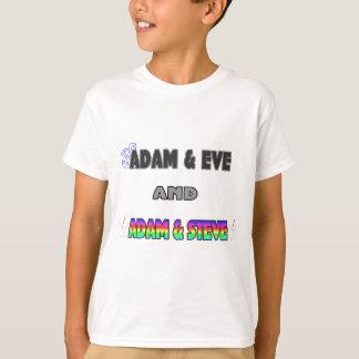 Adán y Eva y Adán y Steve Playera