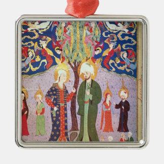 Adán y Eva y sus trece gemelos Ornamentos De Reyes Magos