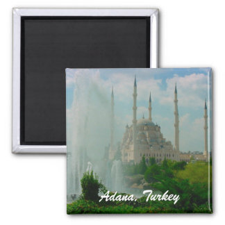 Adana, Turkey 2 Inch Square Magnet