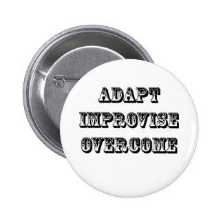 Adapt-Improvise-Overcome Button