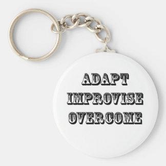 Adapt-Improvise-Overcome Keychains
