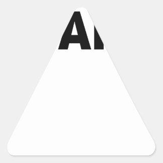 ADAPT Women's T-Shirts.png Triangle Sticker