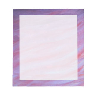 Adaptable Office | Pink Purple Fun Zebra Abstract Notepad
