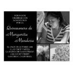Adaptable Quinceanera Invitacion Tarjeta Post Card