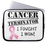 Adaptador del cáncer de pecho funda computadora