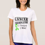 Adaptador del cáncer del linfoma de Non-Hodgkins Camiseta