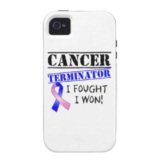 Adaptador masculino del cáncer de pecho vibe iPhone 4 carcasa