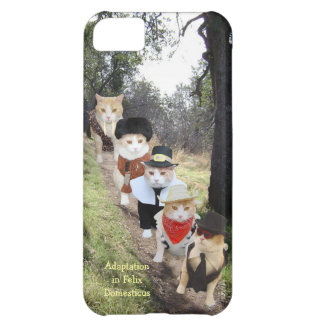 Adaptation in Felix Domesticus/Funny Cats iPhone 5C Cases