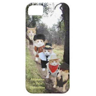 Adaptation in Felix Domesticus/Funny Cats iPhone SE/5/5s Case