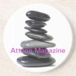 Adapte el práctico de costa de la revista posavasos personalizados