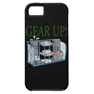 Adapte para arriba funda para iPhone 5 tough