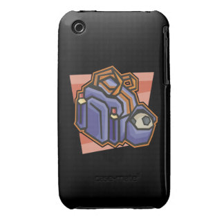 Adapte para arriba iPhone 3 Case-Mate carcasa
