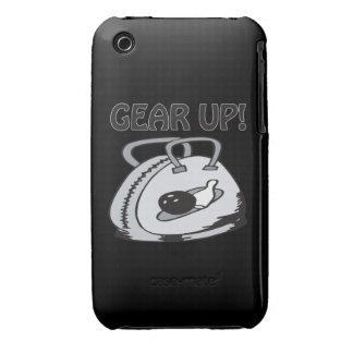 Adapte para arriba iPhone 3 Case-Mate cárcasas
