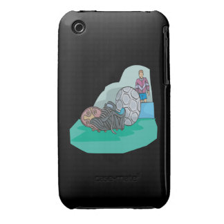 Adapte para arriba iPhone 3 Case-Mate protector