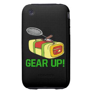 Adapte para arriba iPhone 3 tough carcasa