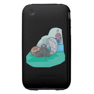 Adapte para arriba tough iPhone 3 carcasa