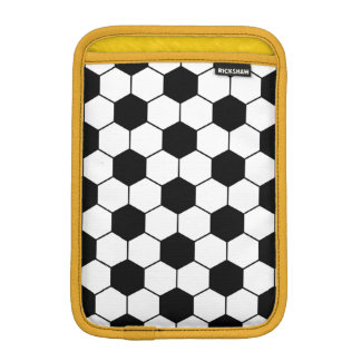 Adapted Soccer Ball pattern background or motif iPad Mini Sleeves